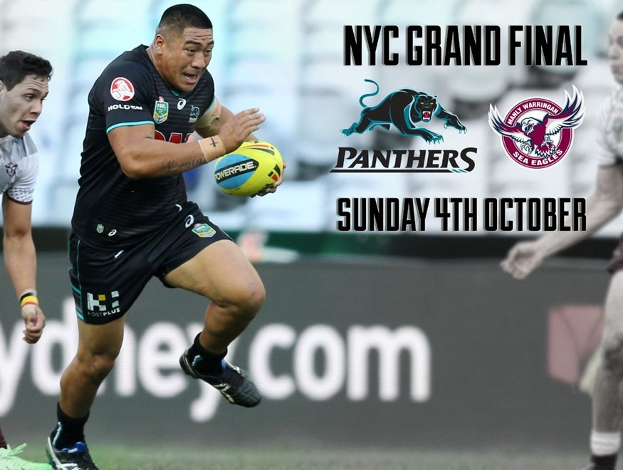 NYC Panthers v Sea Eagles  :Digital Image Grant Trouville © NRLphotos  : NRL Rugby League - Finals Week 1 - Bulldogs v St George Illawarra at ANZ Stadium Homebush , Saturday the 10th of September 2015.