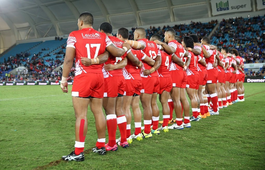 Samoa v Tonga :Digital Image Grant Trouville © NRLphotos  : 2015 NRL REP Round - PACIFIC TEST MATCHs at CBUS Super Stadium Gold Coast Saturday MAY 2nd  2015.