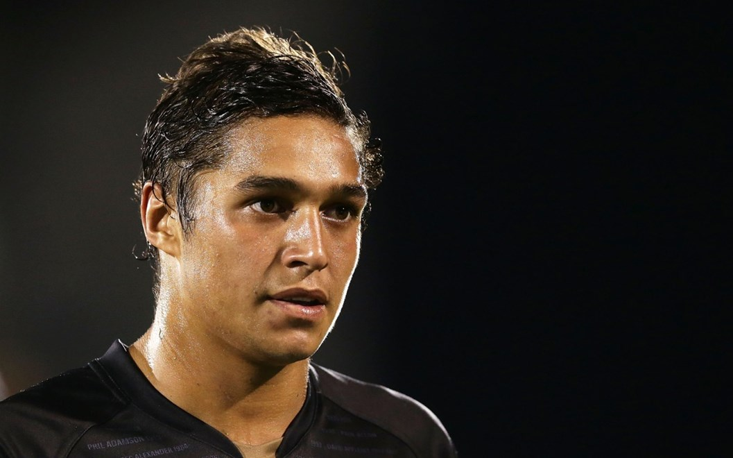 SYDNEY, AUSTRALIA - MARCH 19:  Te Maire Martin of the Panthers looks on after victory in the round three NRL match between the Penrith Panthers and the Brisbane Broncos at Pepper Stadium on March 19, 2016 in Sydney, Australia.  (Photo by Mark Metcalfe/Getty Images)