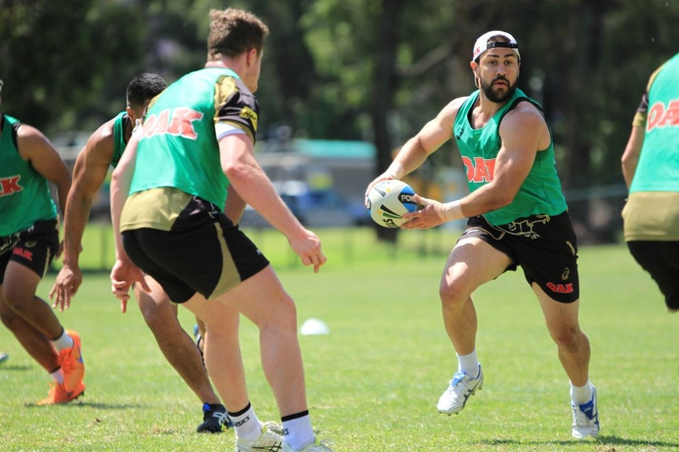 Penrith Panthers Pre-season training. Photo by Jeff Lambert (Penrith Panthers)