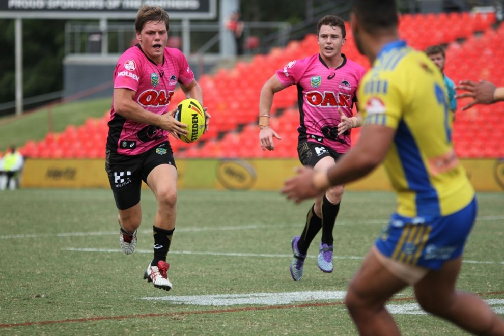 Penrith Panthers NYC v Eels NYC. Photo by Jeff Lambert (Penrith Panthers)