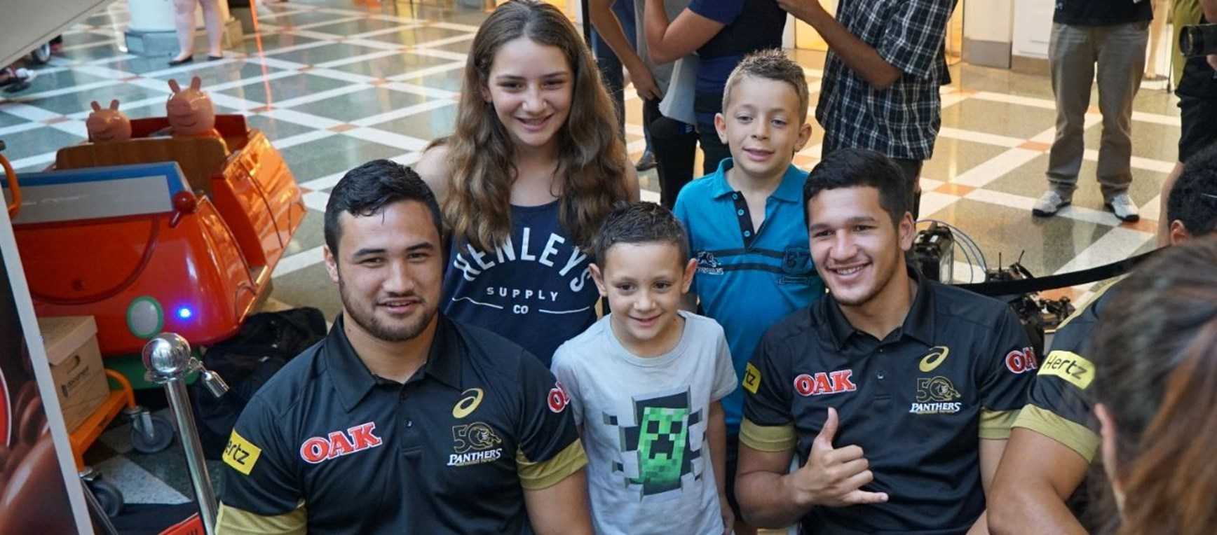 Gallery: Panthers Signing Session
