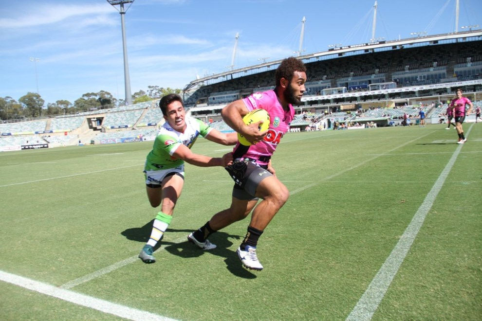 Penrith Panthers NYC v Canberra Raiders NYC, GIO Stadium Canberra. Photo by Jeff Lambert (Penrith Panthers)