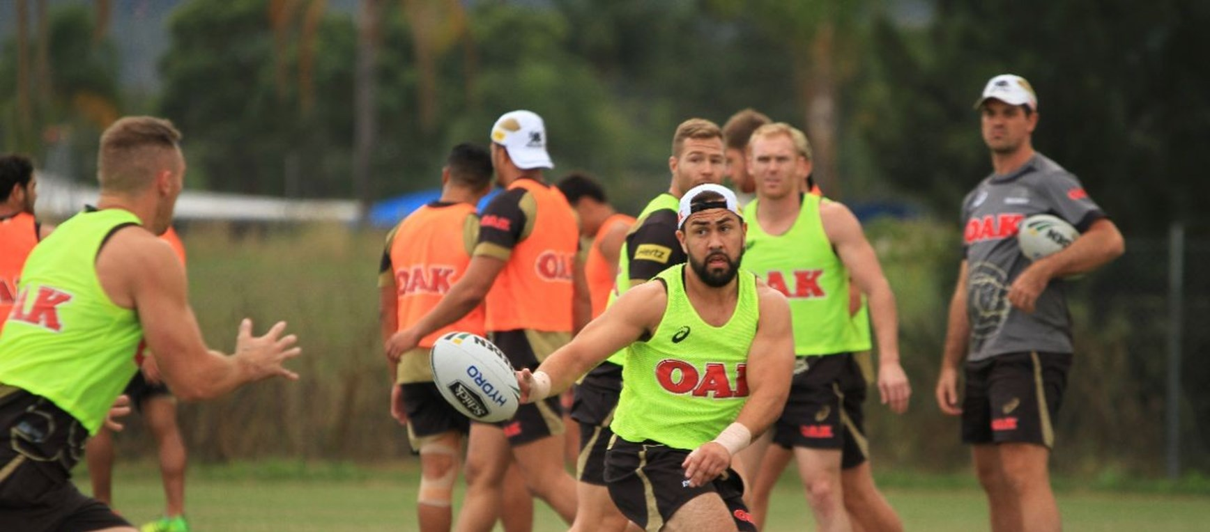 Gallery: Panthers back at work