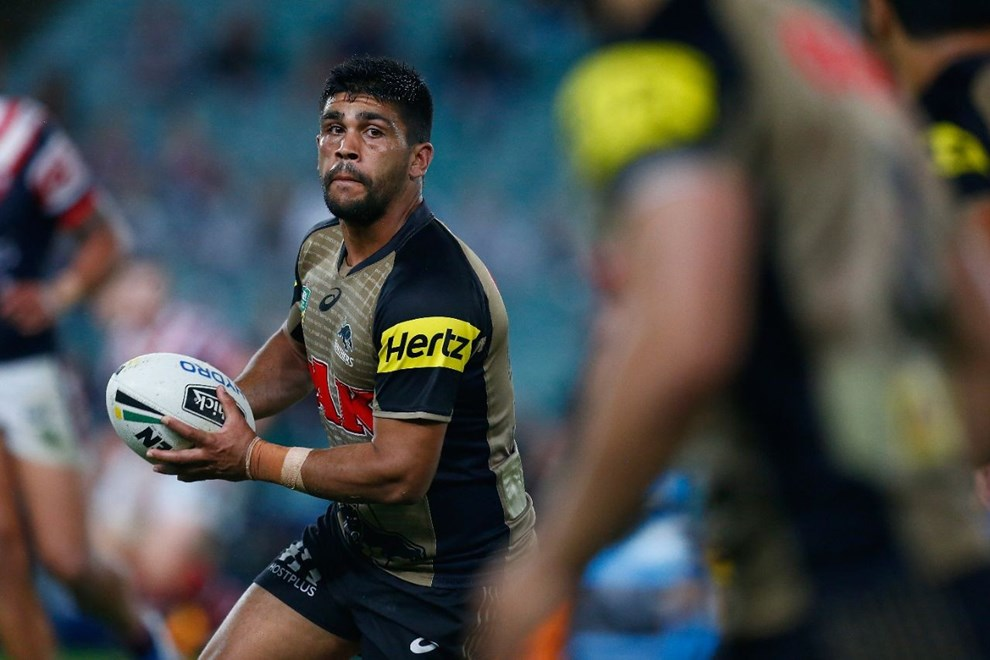NRL Premiership - Round 07 - Sydney Roosters V Penrith Panthers - 18 April 2016 - Allianz Stadium, Sydney, NSW - Steve Christo