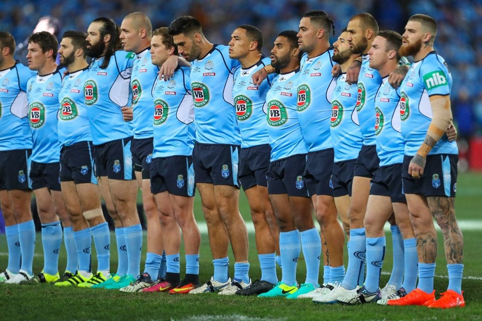 Competition - State of Origin. Round - Game 3. Teams - Queensland Maroons v NSW Blues. Date - 13th of July 2016. Venue - ANZ Stadium, Olympic Park NSW. Photographer - Paul Barkley.