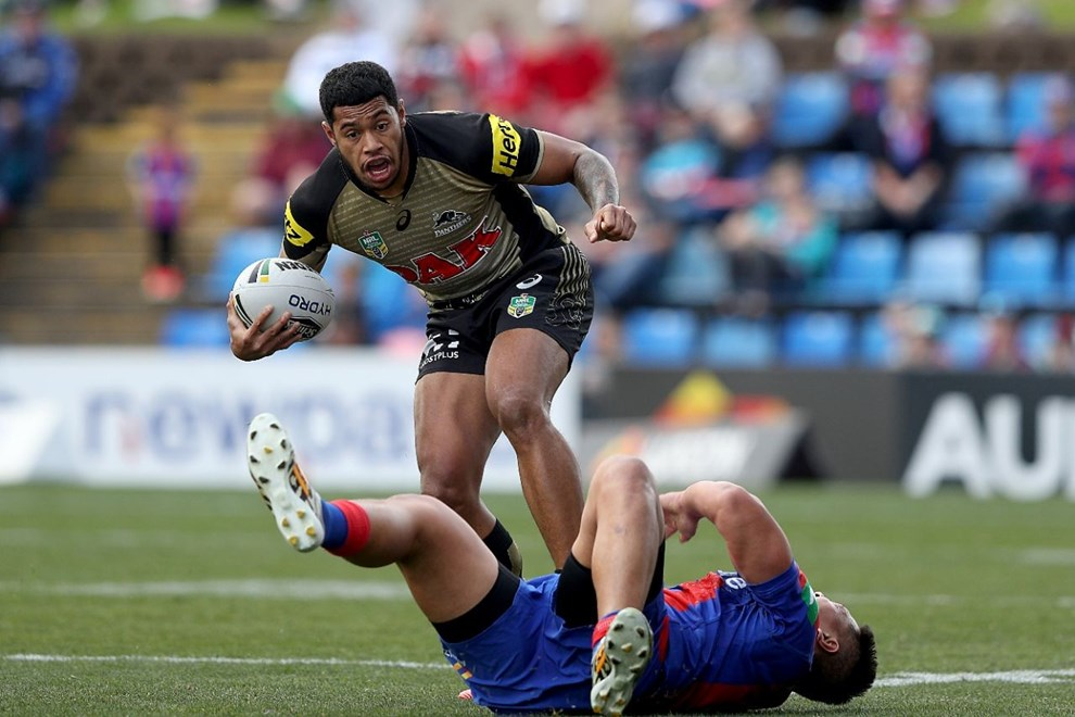 NRL Premiership, Round 23 Newcastle Knights v Penrith Panthers - Sunday 13 August 2016, Hunter Stadium Broadmeadow NSW - Photographer Shane Myers © nrlphotos.com