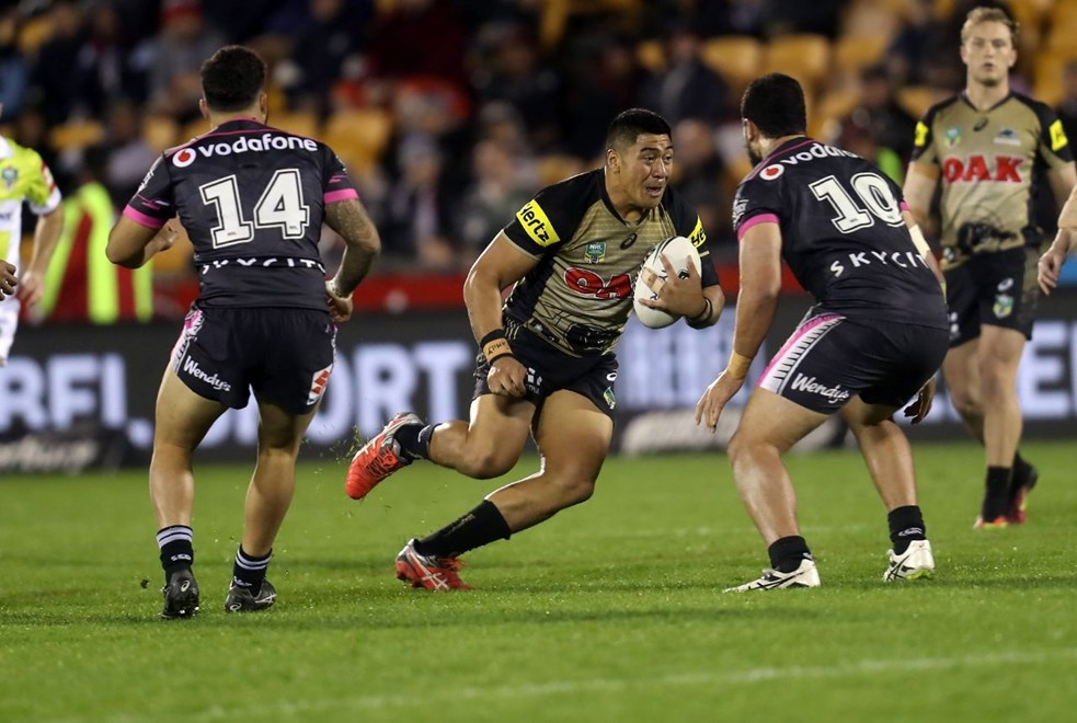 Competition - NRL Premiership Round - Round 21 Teams – NZ Warriors v Penrith Panthers Date – 30th of July 2016 Venue – Mt Smart Stadium, Auckland, NZ Photographer – Shane Wenzlick
