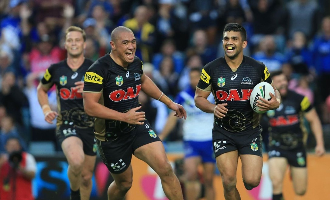 Competition - NRL Round - Finals Week 1 Teams – Panthers V Bulldogs Date – 11th of September 2016  Venue – Allianz Stadium  Photographer – Cox  Description –