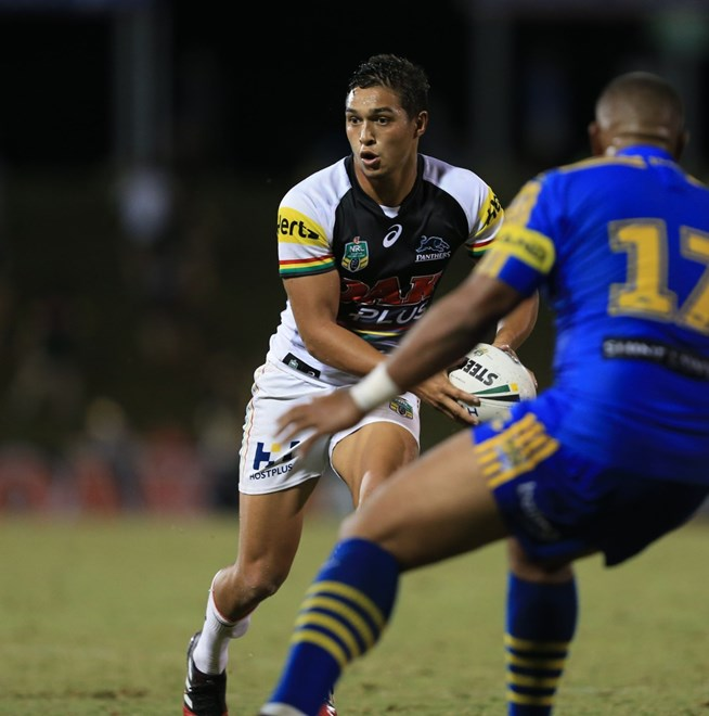 : Penrith Panthers V Parramatta Eels trial NRL match at Pepper Stadium. Saturday the 18th of February 2017. Image by Robb Cox ©NRL Photos
