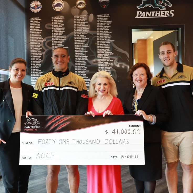 Panthers raises funds for AGCF