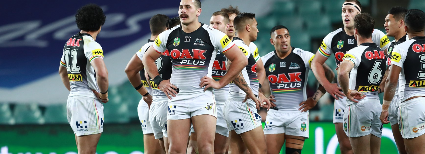Panthers off the pace in Roosters defeat
