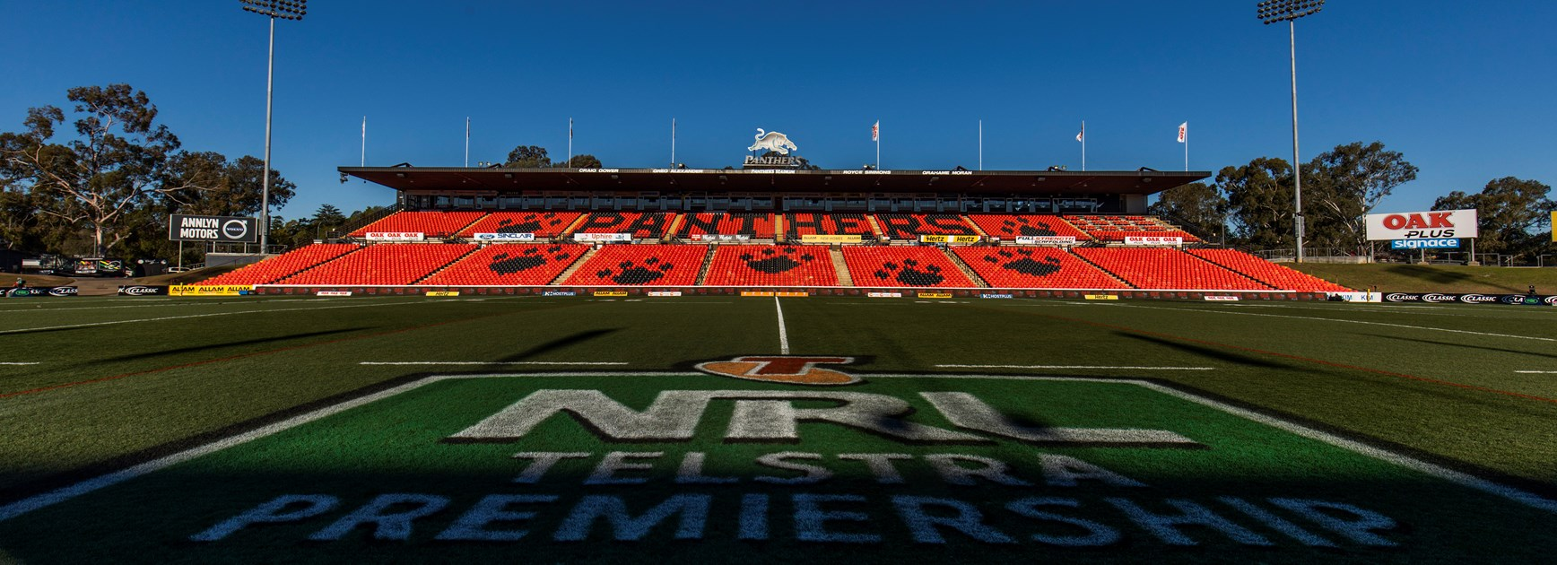 Panthers Stadium to host ISP Finals