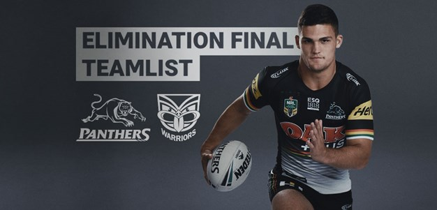NRL Teamlist: Elimination Final