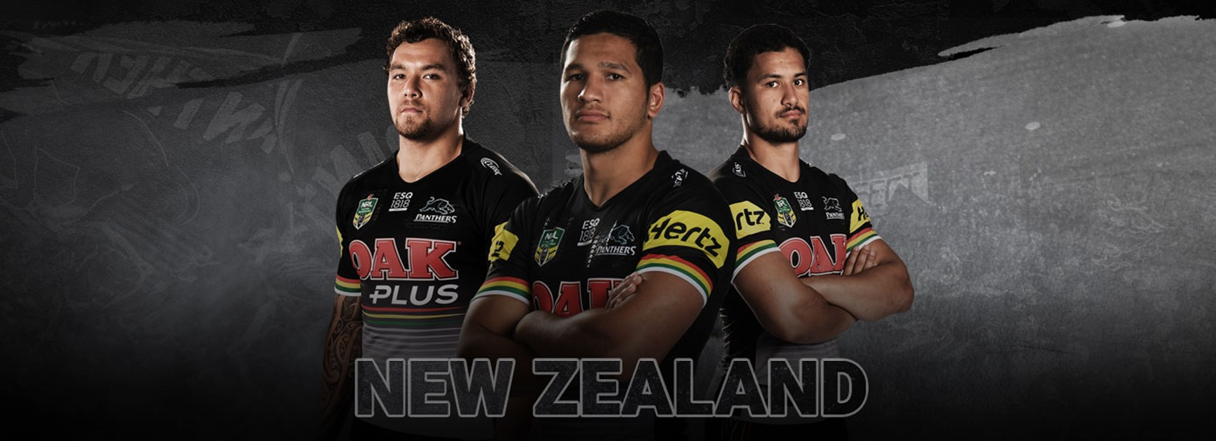 Panthers trio named for New Zealand
