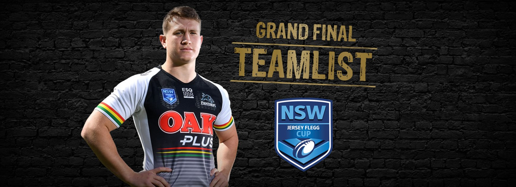 Jersey Flegg Teamlist: Grand Final