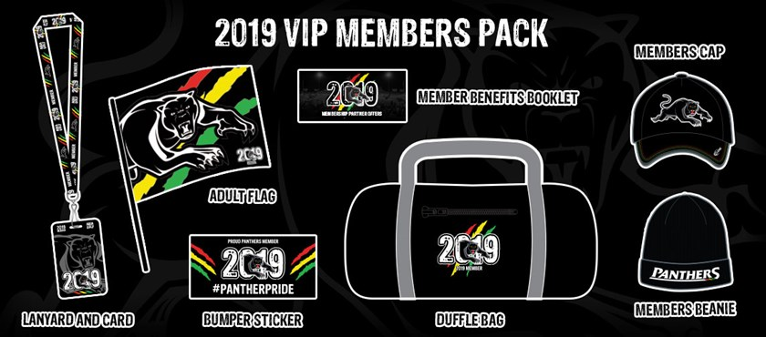 Panthers unveils 2019 member packs - Panthers