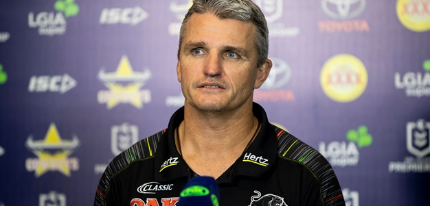 Press Conference: Panthers v Cowboys