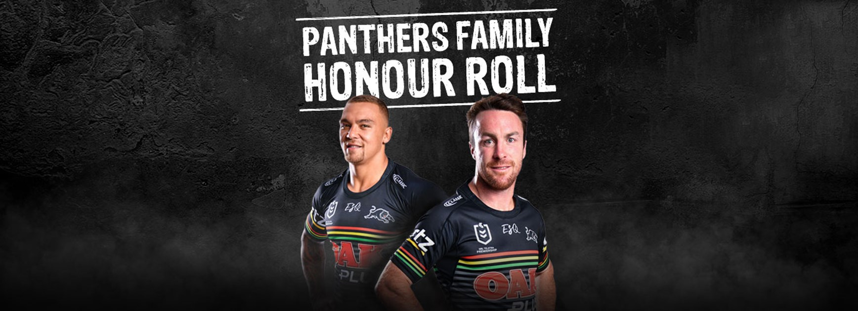 Panthers Family Honour Roll at Panthers Stadium