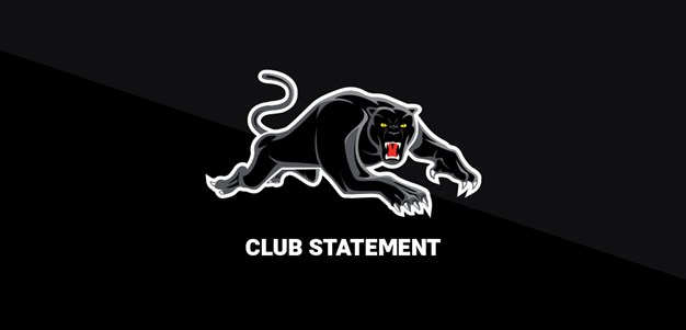 Club Statement: Brent Naden