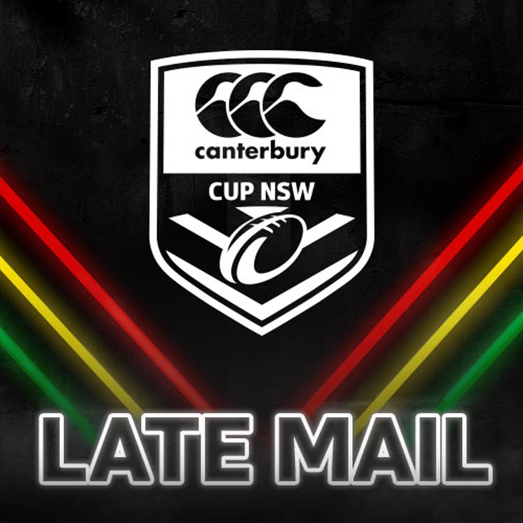 Canterbury Cup Late Mail: Round 21