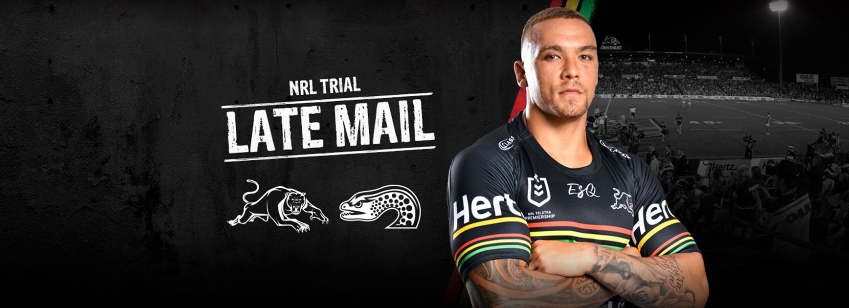 NRL Late Mail: Panthers v Eels