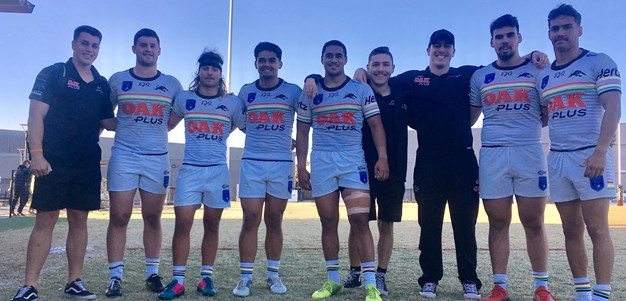 Schoolboy bonds strengthen young Panthers