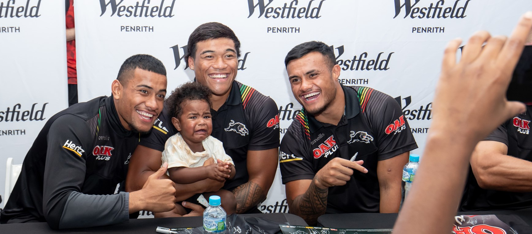 Gallery: Meeting the fans at Westfield