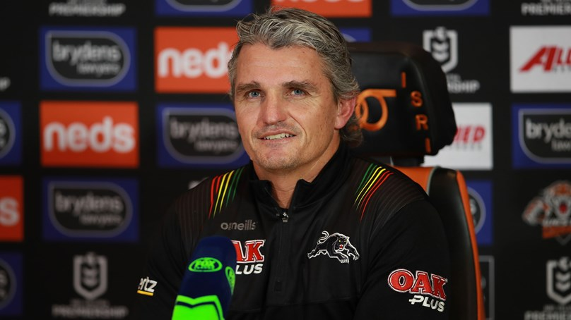 Press Conference: Panthers v Wests Tigers