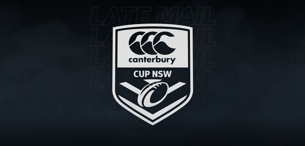 Canterbury Cup Late Mail: Round 1