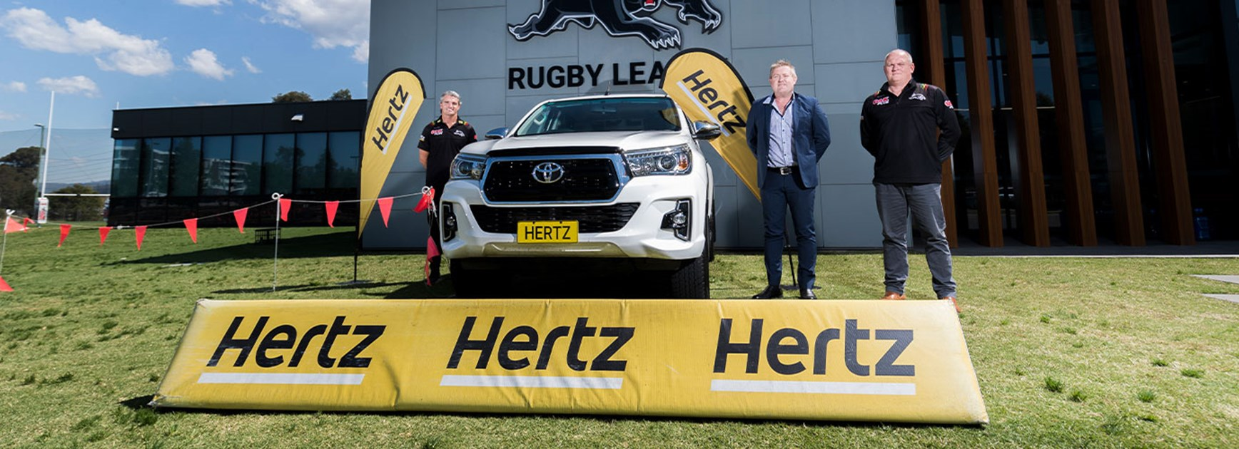 Hertz extends Panthers partnership
