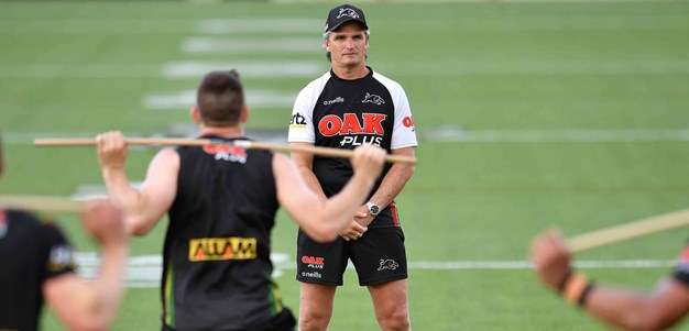 Panthers plan for slippery Grand Final