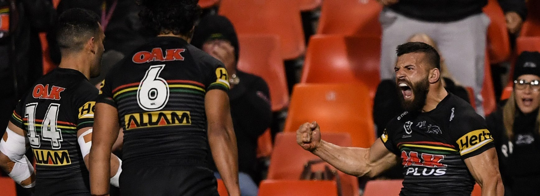 Panthers pummel Eels into submission