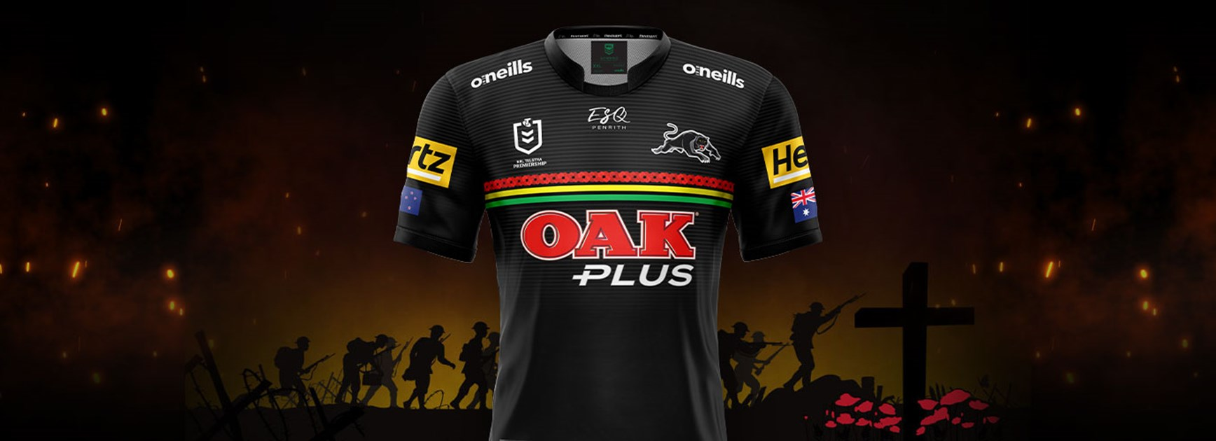 Panthers reveals 2021 ANZAC Jersey