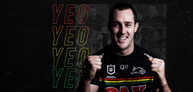Yeo re-signs with Panthers