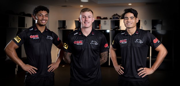 Panthers trio promoted to top 30